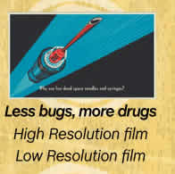 Less bugs, more drugs