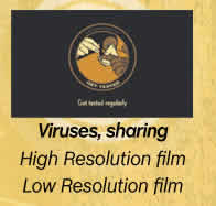 Viruses, sharing